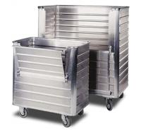 Wózek higieniczny aluminiowy z pokrywą COAL